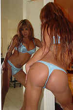 Tranny Trannies Transsexuals Transexuals Shemales Naked Photos XXX Pictures 11-05-2007 Incedible red headed shemale